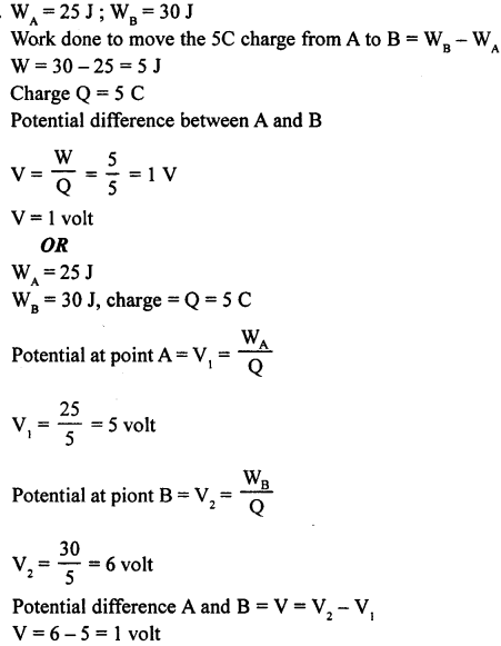 A New Approach to ICSE Physics Part 1 Class 9 Solutions Electricity and Magnetism - 1 16.2