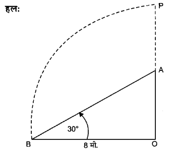 UP Board Solutions for Class 10 Maths Chapter 9 Some Applications of Trigonometry 2