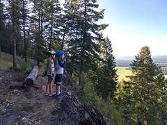 Mountain Biking the Whitefish Trail