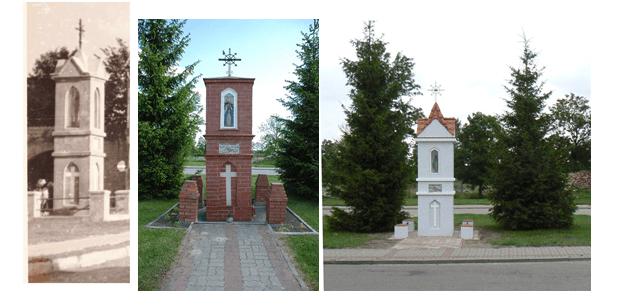 kapliczka Dąbrówno