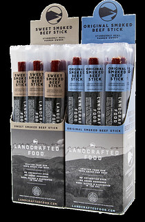 Introducing Grass-Fed Beef Sticks From Landcrafted Food