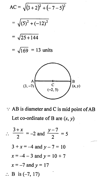 Selina Concise Mathematics Class 10 ICSE Solutions Chapter 13 Section and Mid-Point Formula Ex 13C 8