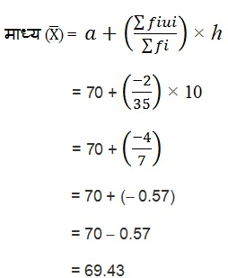 NCERT Books Solutions For Class 10 Maths Hindi Medium Statistics 14.1 50