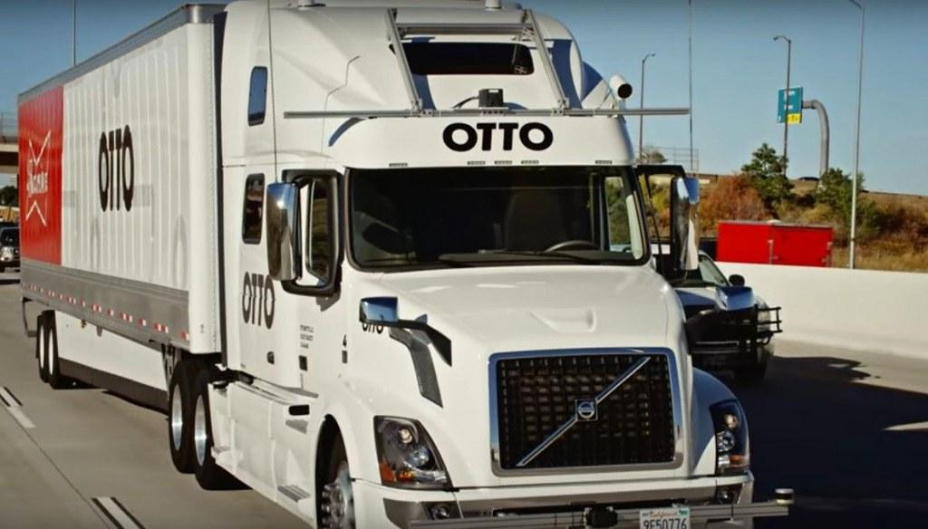 беспилотный грузовик volvo