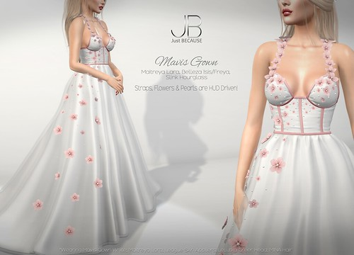 NEW! Mavis Gown - at FaMESHed!