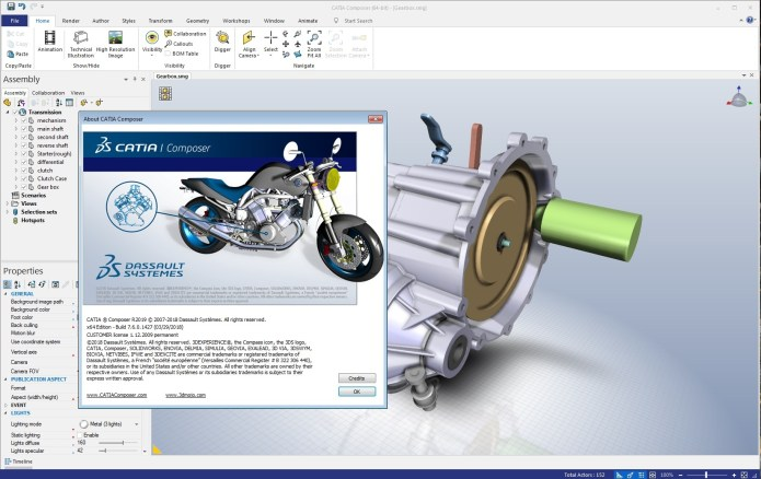 Working with DS CATIA Composer R2019 full license