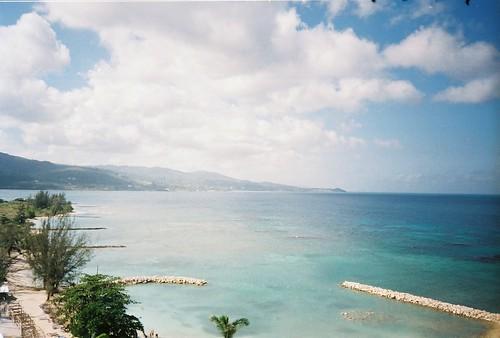 Beach at Sunset Beach, Jamaica by heather0714