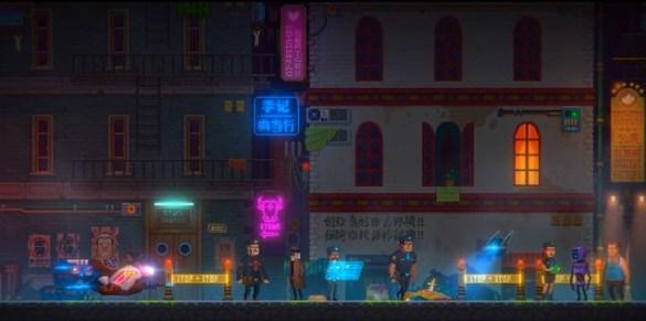 Tales of the Neon Sea - Crime Scene