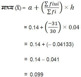 NCERT Books Solutions For Class 10 Maths PDF Hindi Medium Statistics 14.1 45