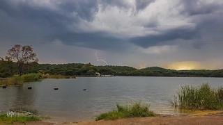 Tormenta en Zarandas y Zumajo. 19-05-18.
