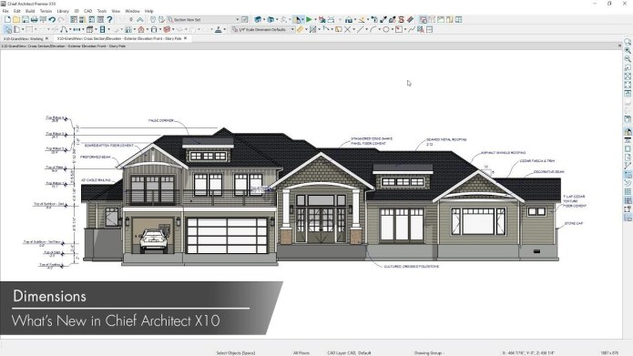 Design with Chief Architect Premier X10 20.2.2.3 full license