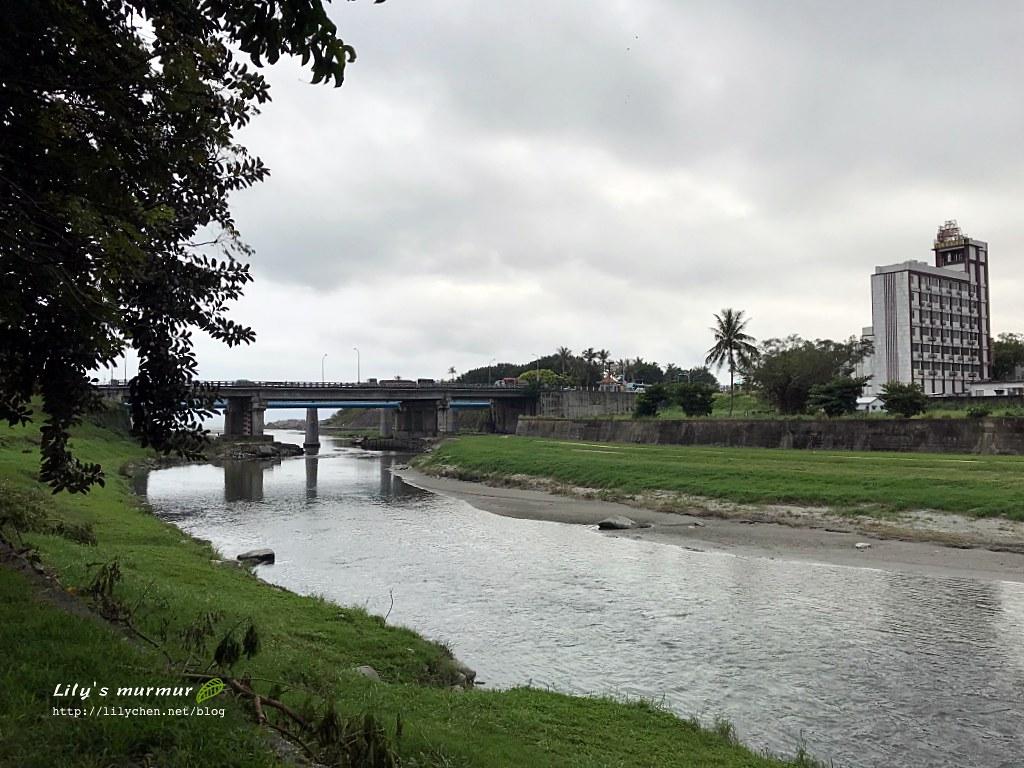 圖說:從美崙溪河濱公園走過的風景。