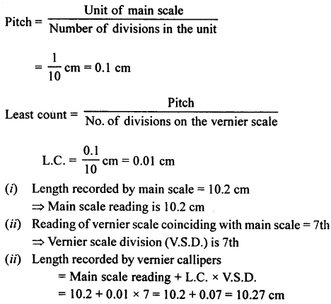 A New Approach to ICSE Physics Part 1 Class 9 Solutions Measurements and Experimentation 22.1