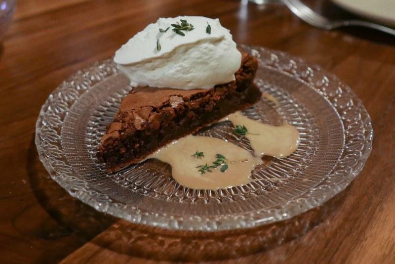 Chocolate Soufflé Cake, Earl Grey Cream $10