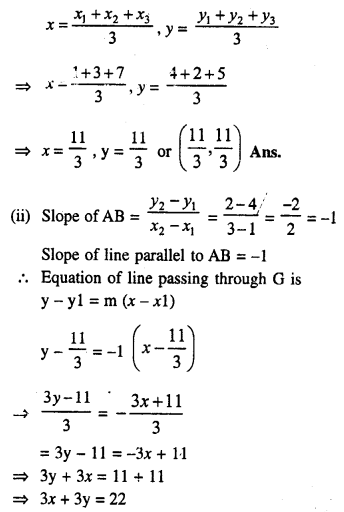 Selina Concise Mathematics Class 10 ICSE Solutions Chapter 14 Equation of a Line Ex 14C 22