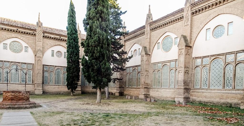 claustro exterior Catedral de Nuestra Señora de la Huerta de Tarazona Zaragoza 02
