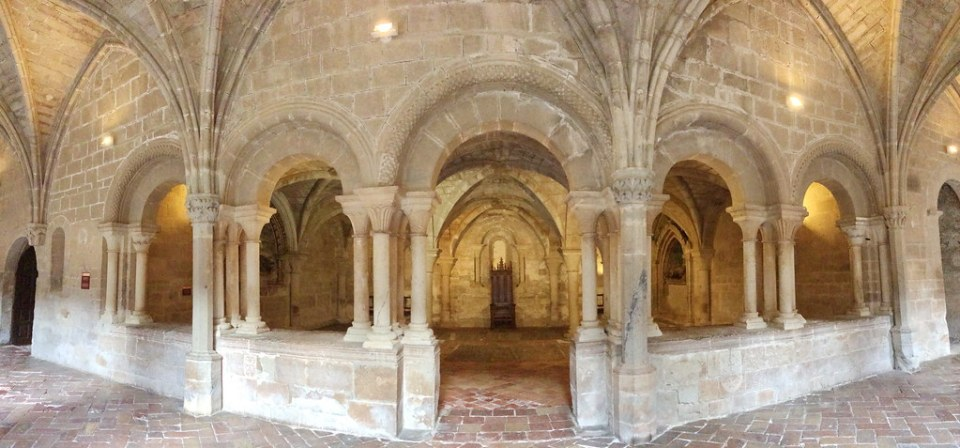 Sala Capitular interior Real Monasterio de Santa Maria de Veruela Zaragoza 03