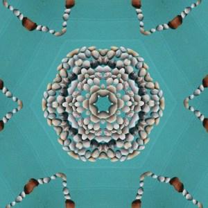 Kaleidoscoop schelpenmandala
