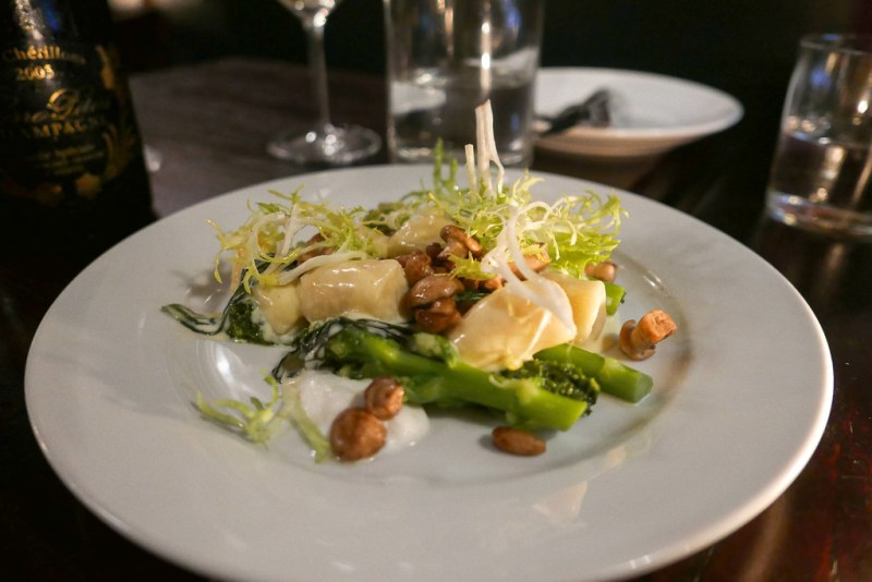 Gnocchi, St Georges Mushrooms, Wild Garlic ($25)