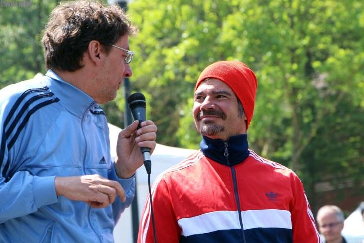Didier Super & Fabrice Wolbaeck; Les têtes de vainqueurs.