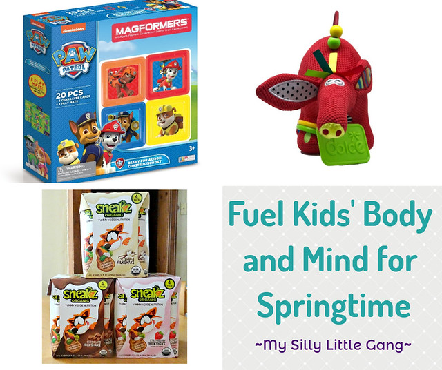 Fuel Kids' Body and Mind for Springtime