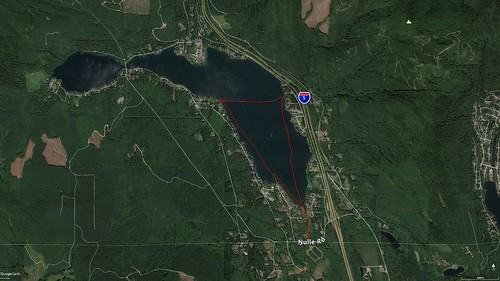Lake Samish Paddling Route