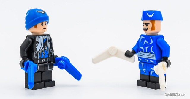 Review LEGO 70918 The Bat-Dune Buggy - Captain Boomerang comparison