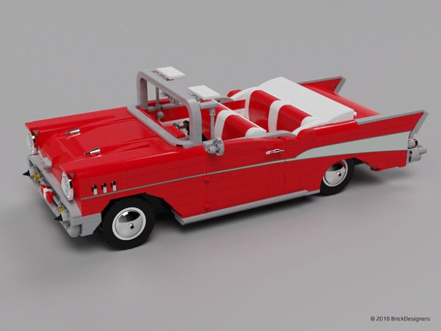 Lego Chevy Bel Air 1957