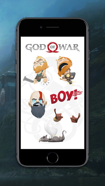 God of War: iMessage Stickers