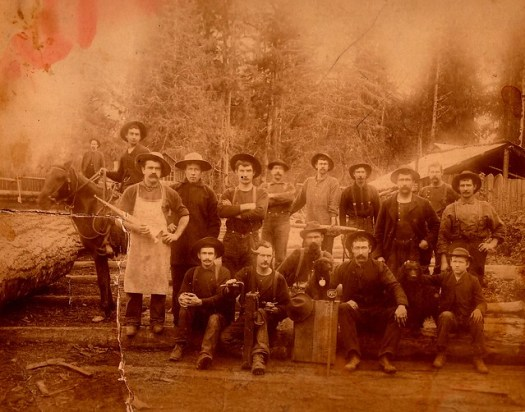 James Becraft and McCoy Logging Crew