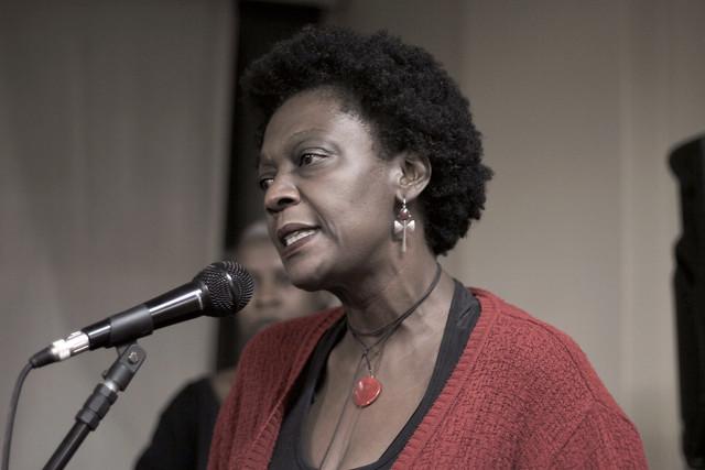 Benilda Brito, coordenadora do Nzinga, coletivo de mulheres negras de Belo Horizonte - Créditos: Cristiano P. Silva