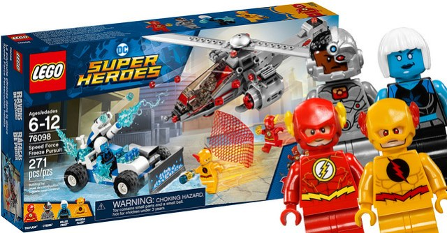 REVIEW LEGO 76098 Speed Force Freeze Pursuit