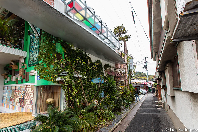 Naoshima-Baños público I love Yu