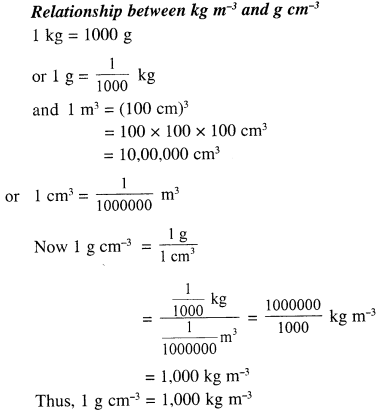 Selina Concise Physics Class 7 ICSE Solutions - Physical Quantities and Measurement 9