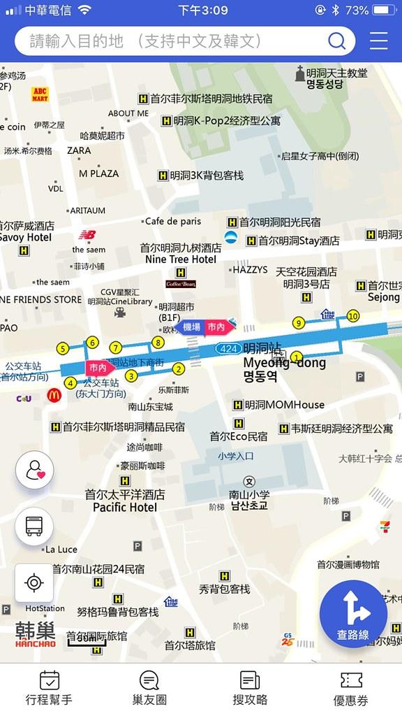 KOREA Map 1