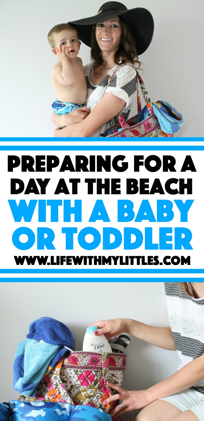 Preparing for a day at the beach with a baby or toddler means more than just packing the beach bag! Here are some helpful tips for what to bring and how to protect and nourish your baby's skin after you get home from the beach!