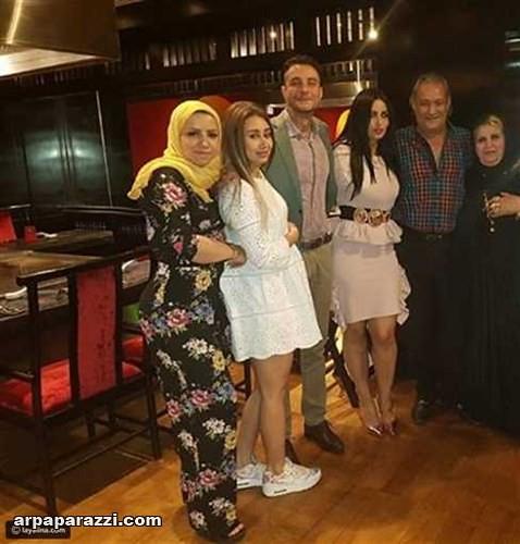 صور احمد الفيشاوي مع خطيبته الجديدة