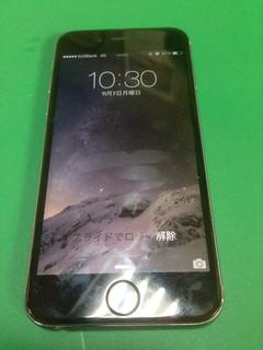 213_iPhone6のフロントパネルガラス割れ