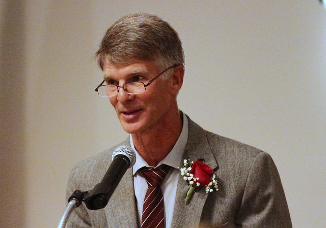 2018 MWCA Bartelma Hall of Fame inductee Mark Jensen. 180428BJF0977