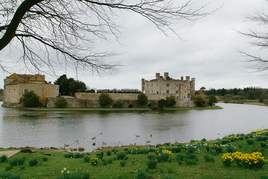 A castle from across the moat