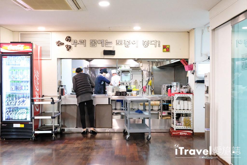 首尔美食餐厅 北村百年土种蔘鸡汤 (14)