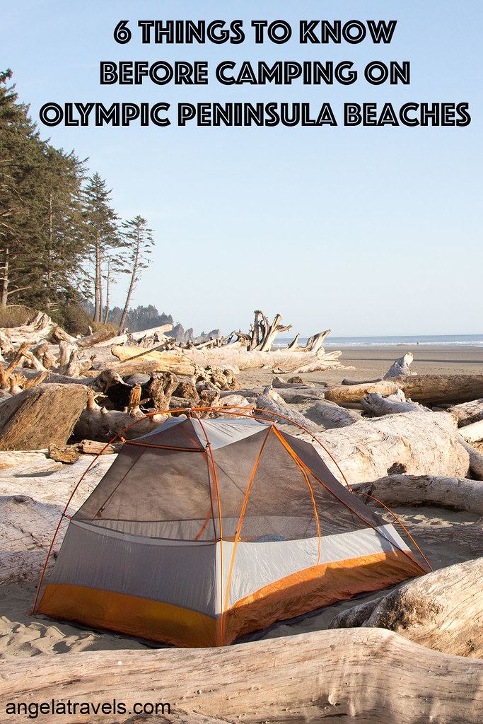 6 Things to Know Before Camping on Olympic Peninsula Beaches