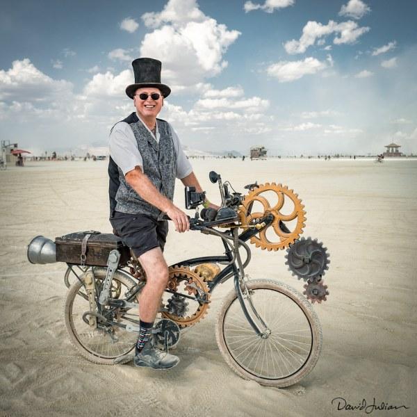 Gary Sullivan' Steampunk Bike-8537