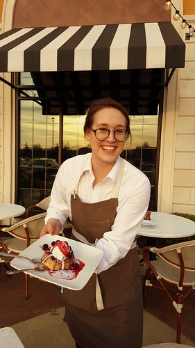 We love the warm berry cake, AND our waitstaff, Rachel. From Why You Need to Try Bravo Cucina Italiana's Spring Promotion