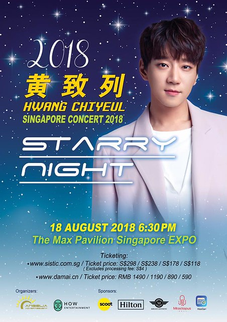 Hwang Chiyeul Singapore Concert 2018