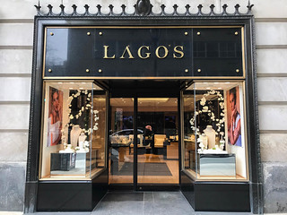 Lagos SEG Tension Fabric Window Display