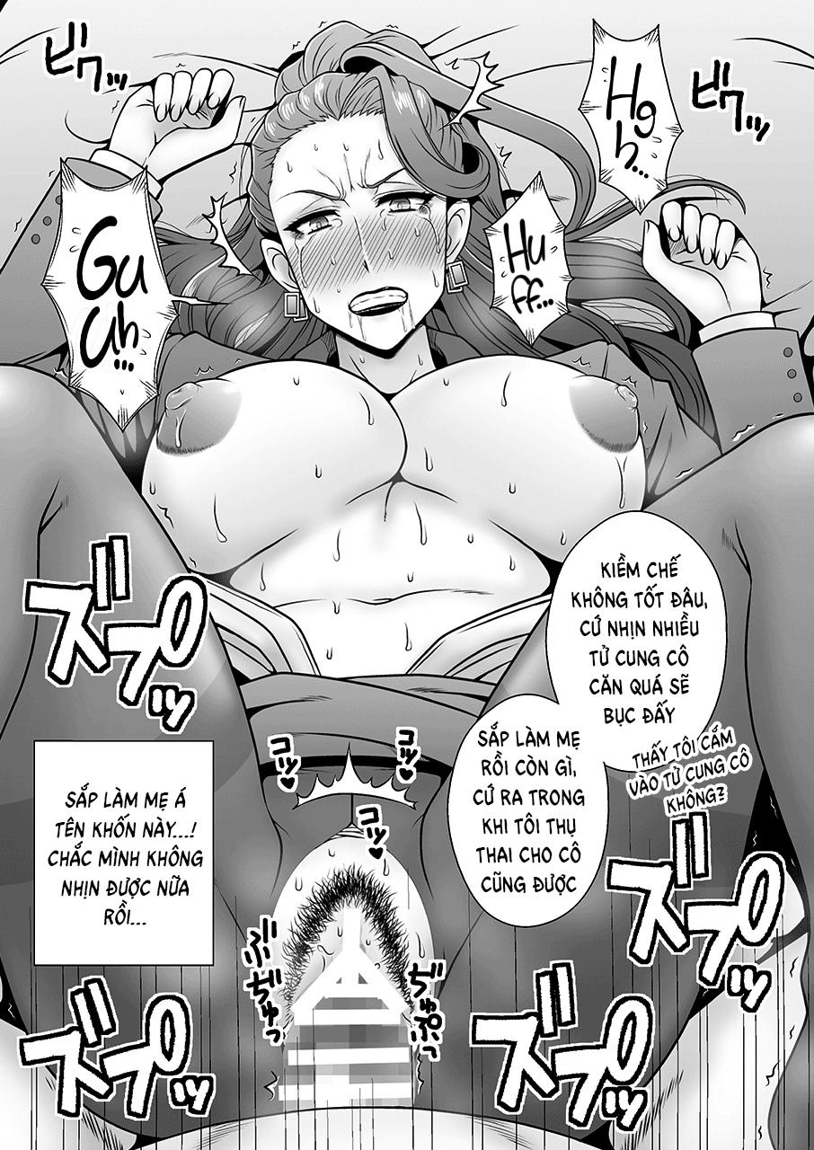 Hình ảnh  in Beautiful MILF Mishiro - Raped by Her Younger Subordinate