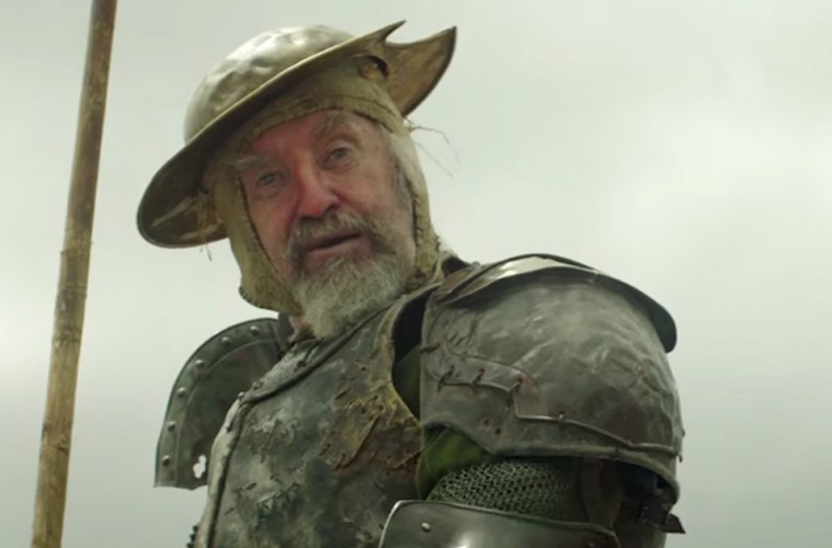 Jonathan Pryce : Don Quijote, en The Man Who Killed Don Quixote