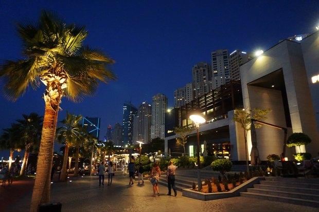 Dubai Marina boardwalk