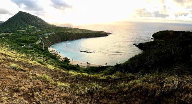 Best Hikes on Oahu: The Hanauma Bay Rim Trail - On Walkabout on mount thielsen trail map, koko crater trail map, kaena point trail map, hanalei trail map, hanauma bay trail map, waimea trail map, kihei trail map, hawaii map, tantalus trail map,